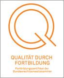 Logo Qualität durch Fortbildung